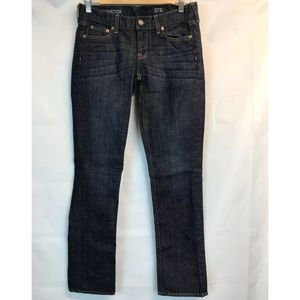 J. Crew Matchstick Pants Blue Denim Jean Sz 27 S