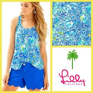 NWT Lilly Pulitzer Cordelia Top, After the Party