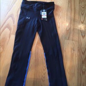 NEW under armour compression capris