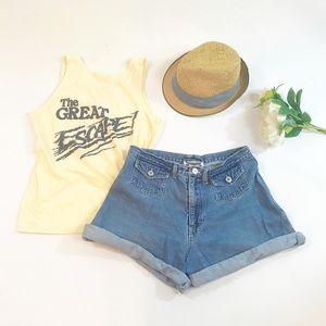 ⭐️ NEWARRIVAL Vintage Super High Waist Jean Shorts