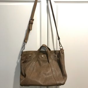 Taupe Madewell leather bag