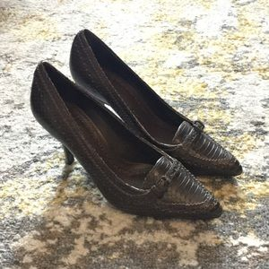 Brown Tory Burch Pumps Size 7