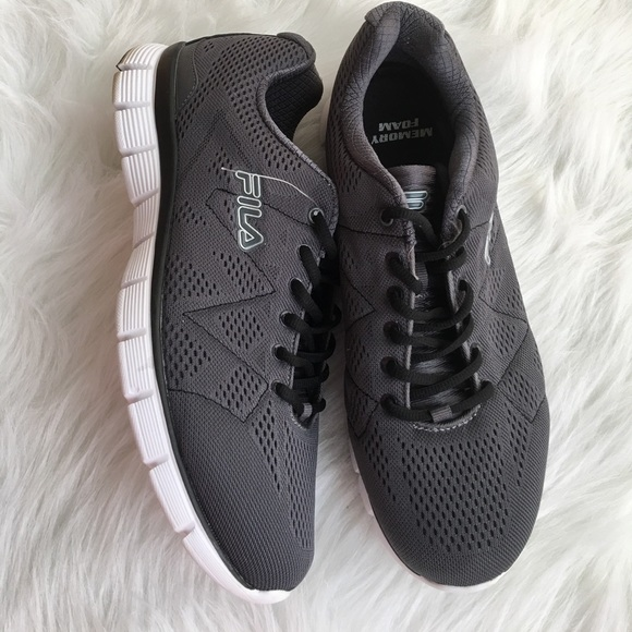 Fila Memory Refractive Memory Foam Athletic Shoes