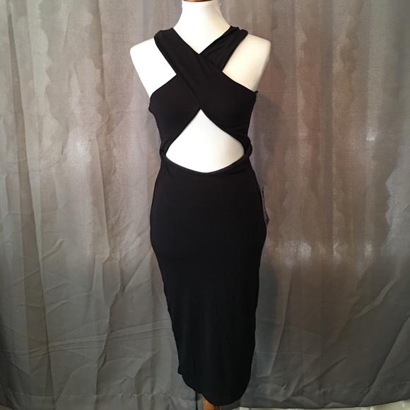 4c97a42bc8 Posh shop sexy black dress size Large.