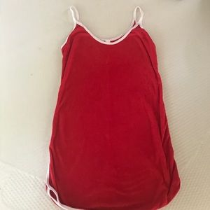 American Apparel Red Pool dress
