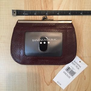 Banana Republic Leather Wallet