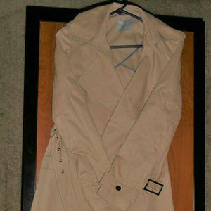 Asos  tan knee length trench coat