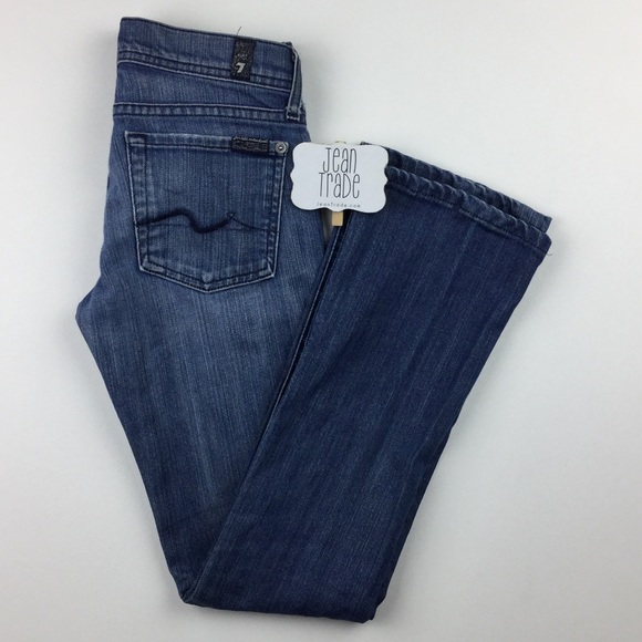 7 For All Mankind Denim - 7 for all mankind rocker jean