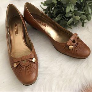 Ecco Tan Heels