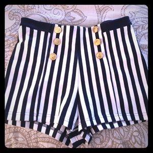 Cute pinstripe shorts