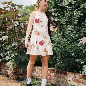 Reworked Vintage Floral Mini Dress