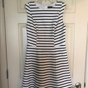 Limited striped dress for work