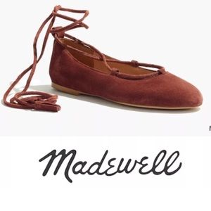 New In Box: Madewell Inga Lace Up Flat