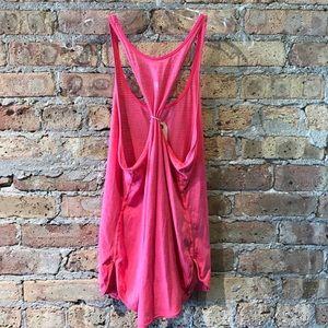 lululemon athletica Tops - Lululemon coral pink tank sz 6