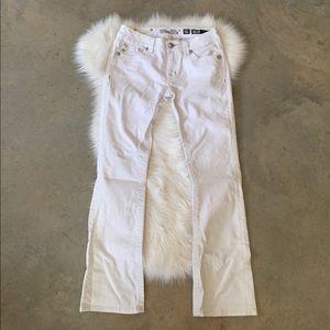 Women's Miss Me White Jeans Bootcut on Poshmark