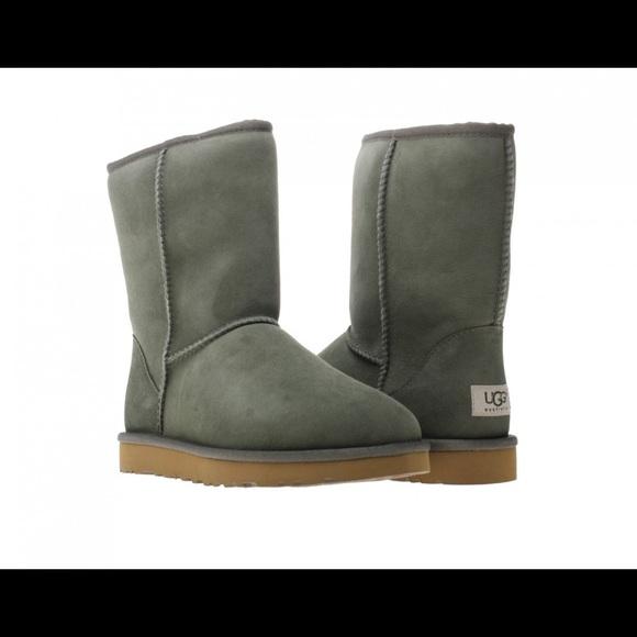 Olive Green Short Ugg Boots