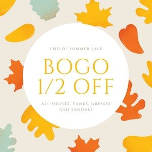 Check out my end of summer sale!