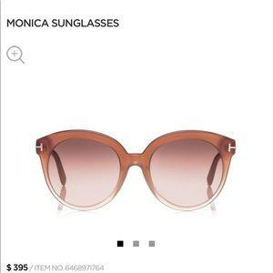 Tom Ford new monica rose sunglasses