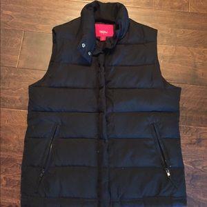 Mossimo Black puff vest