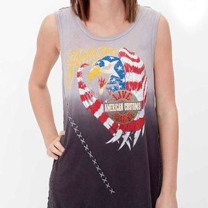 "Affliction ""Eagle Eye"" Tank Top"