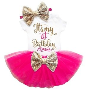 Other - Baby girl first birthday outfit