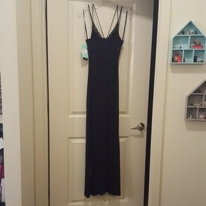NWT Long cocktail dress