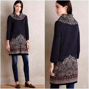 Sweaters - Anthropologie Imperial Garden Tunic