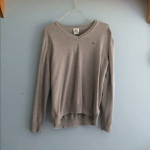 Grey Lacoste Sweater