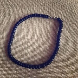 Jewelry - ~tropical~ black Hawaiian wood anklet bracelet