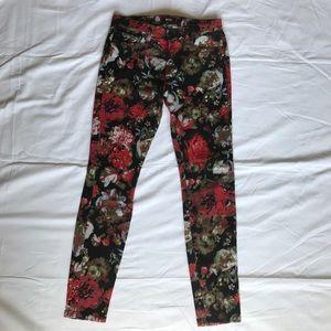 Women's BDG Floral Jeans 29x29 Mid Rise Twig