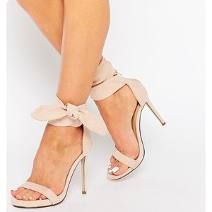 GRAY Missguided Heels