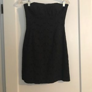 Black BB Dakota eyelet dress
