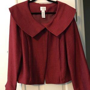 Women's single button blazer. New with tags sz 12