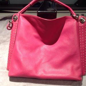 BCBGMaxAzria Bags - FABULOUS Bright pink BCBGMaxazria Tote