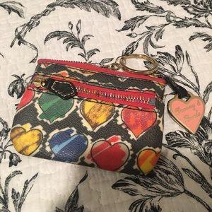 Vintage Dooney & Bourke mini coin purse