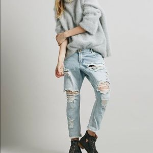 One Teaspoon Lonely Boys Boyfriend Jeans