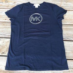 Michael Kors Blue Short Sleeve T-Shirt