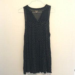 Flows Ecoté Summer Black Dress