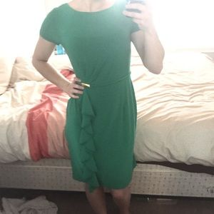 Adrianna Papell Green Size 4 Dress