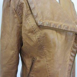 Bagatelle Jackets & Coats - Bagatelle Faux Leather Distressed Moto Jacket *FF9