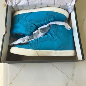 dab61ce8fa0d Supra Shoes - Size 8 turquoise Supra sneakers worn once with box