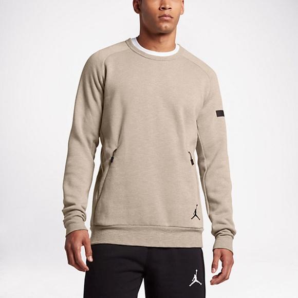 Nike Sweaters Air Jordan Icon Fleece Crew Sweatshirt 802181 235