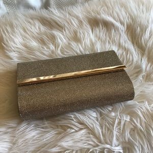 Handbags - *NWOT* Gold Clutch