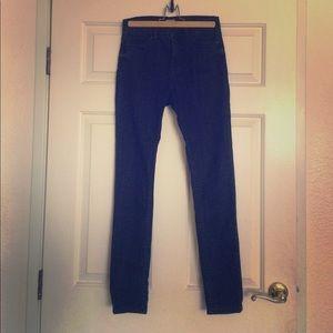 BDG High Rise Skinny Jeans