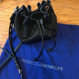 Rebecca Minkoff - Fiona perforated bucket bag