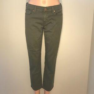 Lucky Brand Sofia Capri jeans, 4/27