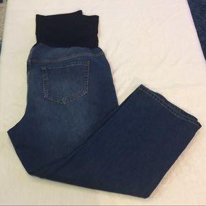 Liz Lange for Target Maternity Jean Capris Size 16