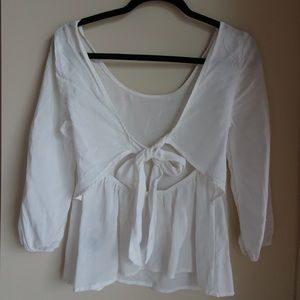 Adorable prairie styled top