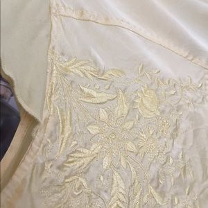 Parasuco Tops - Silk Yellow Blouse