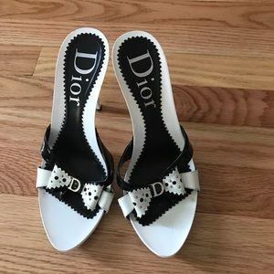 Dior mules. Size 37. Like new.
